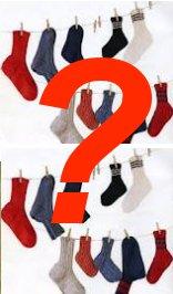 Verschwundene Socken