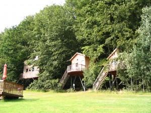 Urlaub mit Kindern im Baumhaus
