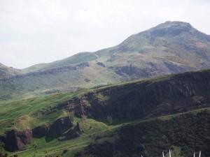 Rohre Berge und Landschaft