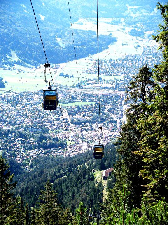Garmisch-Patenkirchen von Oben