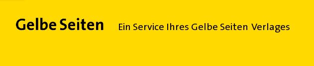 Bildschirmfoto der Gelben-Seiten Website