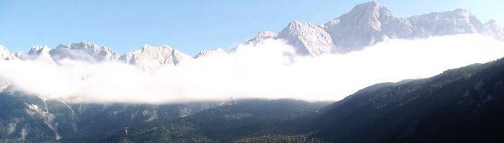 Berggipfel in Österreich