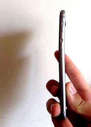 Das eingeknickte iPhone 6